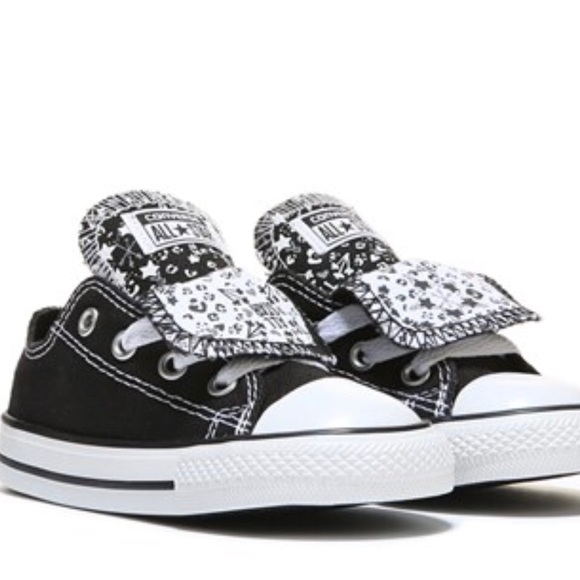 e0184850fc0973 Converse Other - Converse Chuck Taylor Girls Double Tongue Shoe